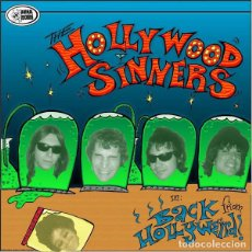 CDs de Música: HOLLYWOOD SINNERS - BACK FROM HOLLYWEIRD! - SPECIAL EDITION FOR WILD WEEKEND 2003 - CD. Lote 133109675