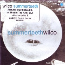 CDs de Música: WILCO - SUMMERTEETH + 2 BONUS TRACKS - CD. Lote 133112845