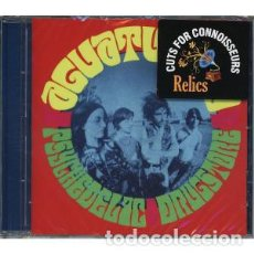 CDs de Música: AGUATURBIA - PSYCHEDELIC DRUGSTORE - REISSUE - REMASTERED - CD. Lote 133119023