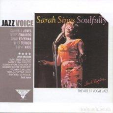 CDs de Música - SARAH VAUGHAN - SARAH SINGS SOULFULLY - 2003 ROULETTE RECORDS - JAZZ VOICE SPANISH EDITION - CD - 133119399