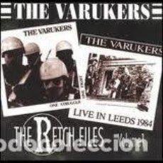 CDs de Música: VARUKERS - THE RETCH FILES VOLUME 1 - CD. Lote 133128067