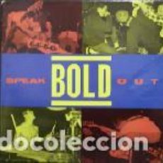 CDs de Música: BOLD - SPEAK OUT - CARDBOARD SLEEVE - CD. Lote 133133010