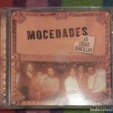 CDs de Música: MOCEDADES (LAS COSAS SENCILLAS) CD 2001. Lote 133133462
