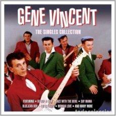 CDs de Música: GENE VINCENT -THE SINGLES COLLECTION BOX SET 3 CD`S ROCK 'N' ROLL ROCKABILLY. Lote 133142778