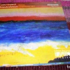 CDs de Música: AMARANTA AGUA Y SALUD CD CANCIONES VENEZOLANAS NUEVOS COMPOSITORES VOL. 3. Lote 133144558