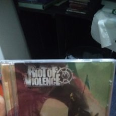 CDs de Música: CD RIOT OF VIOLENCE PLANET OF THE RAPES. Lote 133208510
