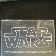 CDs de Música: STAR WARS. JOHN WILLIAMS. LONDON SYMPHONY ORCHESTRA. 2 CD. 1977. Lote 133215509