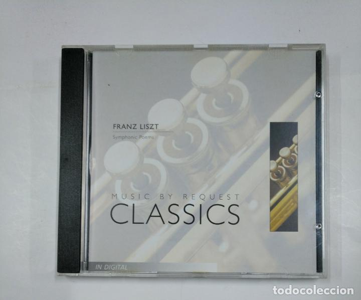 Franz Liszt Symphonic Poems Music By Request Classics Cd Tdkv14