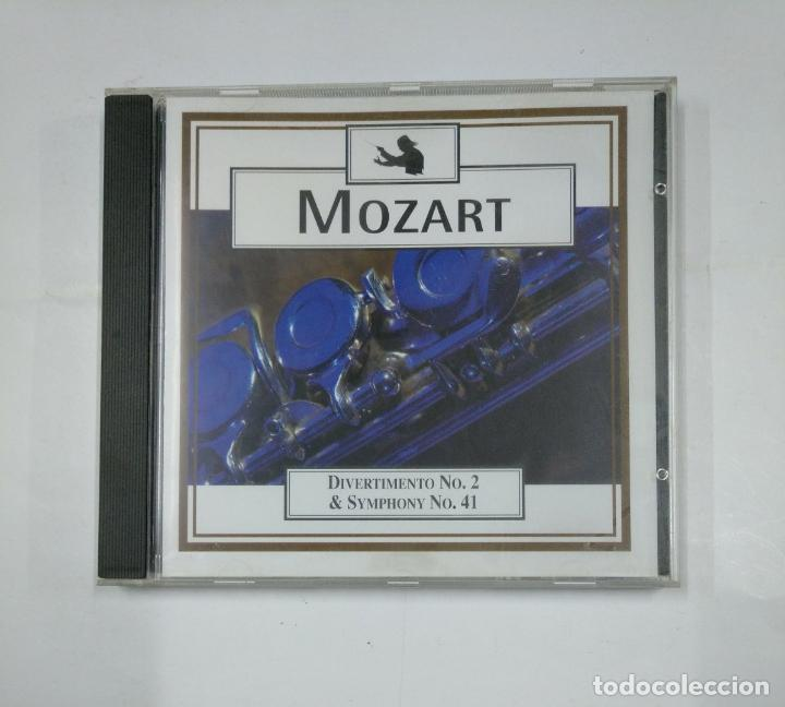 W A  MOZART DIVERTIMENTO NO  2  & SYMPHONY NO  41  CD  TDKV14