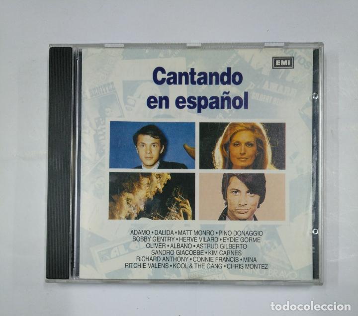 CANTANDO EN ESPAÑOL - ADAMO, DALIDA, MATT MONRO - CD TDKV14 (Música - CD's Pop)
