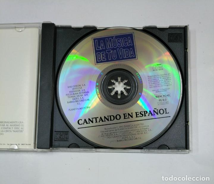 CDs de Música: CANTANDO EN ESPAÑOL - ADAMO, DALIDA, MATT MONRO - CD TDKV14 - Foto 3 - 133264386