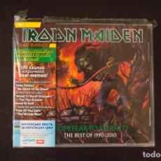 CDs de Música: IRON MAIDEN FROM FEAR TO ETERNITY DOBLE CD EDICION UCRANIA. Lote 133273426