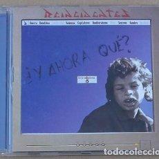 CDs de Música: REINCIDENTES - Y AHORA QUE (CD) 2000 - 15 TEMAS. Lote 133283758