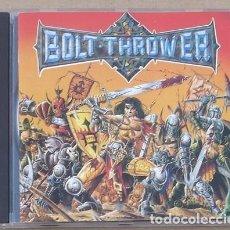 CDs de Música: BOLT THROWER - WAR MASTER (CD) 1991 - 10 TEMAS. Lote 133296402
