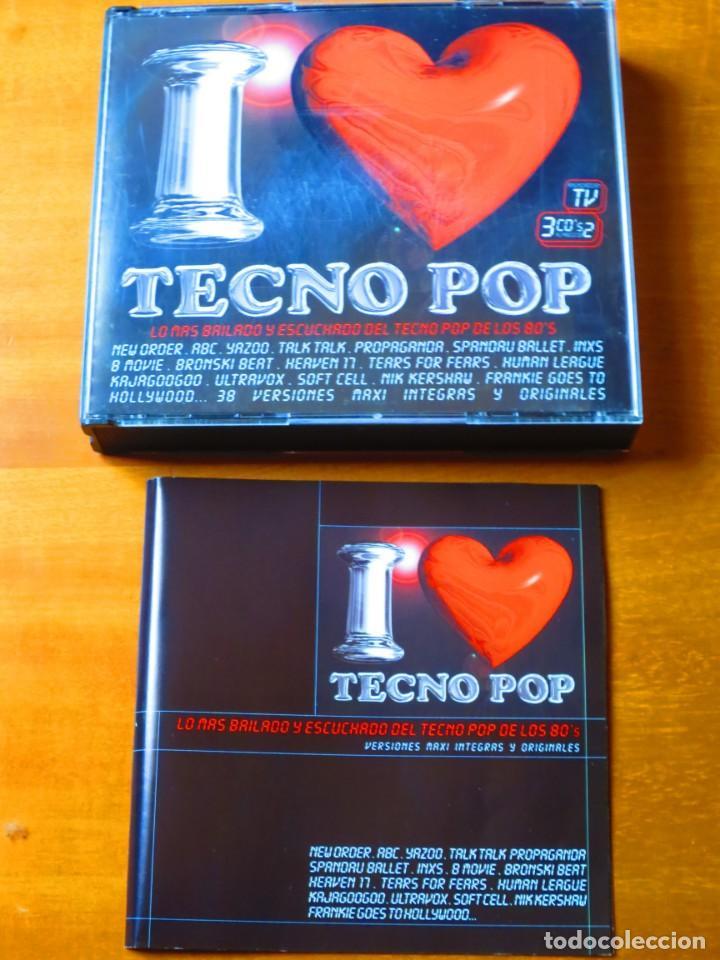 I love tecno pop (3 cd) - Sold through Direct Sale - 133305086