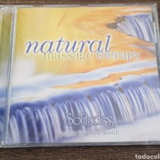 CDs de Música: SOLITUDES NATURAL MASSAGE THERAPY. Lote 133311583