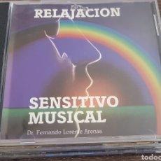 CDs de Música: RELAJACION SENSITIVO MUSICAL DR. FERNANDO LORENTE ARENAS. Lote 133311717