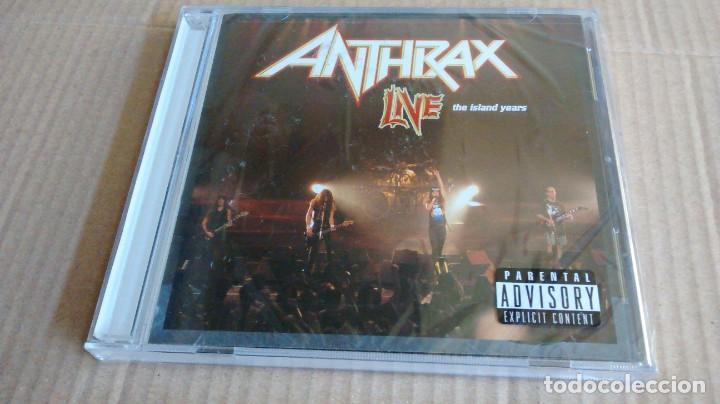 (SIN ABRIR) ANTHRAX - LIVE - THE ISLAND YEARS (Música - CD's Heavy Metal)