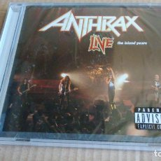 CDs de Música: (SIN ABRIR) ANTHRAX - LIVE - THE ISLAND YEARS. Lote 133343798