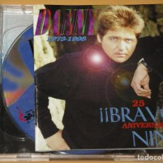 CDs de Música: DANNY, 1973 - 1998, BRAVO NINO, 25 ANIVERSARIO, CON DOS CD, ERCOM. Lote 133353974