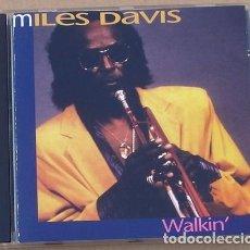CDs de Música: MILES DAVIS - WALKIN (CD) 1993 - 5 TEMAS. Lote 133355098