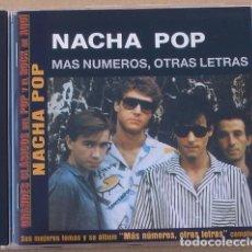 CDs de Música: NACHA POP - MAS NUMEROS, OTRAS LETRAS (CD) 2002 -15 TEMAS. Lote 133365794