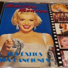 CDs de Música: MARILYN MONROE / SUS ÉXITOS-SUS CANCIONES / CD - PERFIL / 20 TEMAS / CALIDAD LUJO.. Lote 133400034