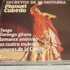 CDs de Música: MANUEL CUBEDO / SECRETOS DE MI GUITARRA / CD - PERFIL-KUBANEY / 24 TEMAS / LUJO. Lote 133401642