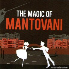 CDs de Música: DOBLE CD ÁLBUM: THE MAGIC OF MANTOVANI - 40 TRACKS - DECCA RECORDS / CAPITOL - AÑO 2010. Lote 133406886