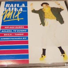 CDs de Música: BAILA BAILA MIX / CD - DIVUCSA / HIP HOP-BOLERO-TANGO-PACHANGA / CALIDAD LUJO. Lote 133409130