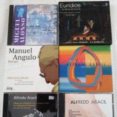 CDs de Música: LOTE DE 176 CDS DE MÚSICA ESPAÑOLA E HISPANOAMERICANA DE LOS SIGLOS XX-XXI.. Lote 133441054