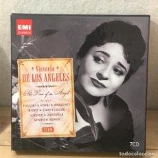CDs de Música: VICTORIA DE LOS ANGELES - 7CD - EMI CLASICS. Lote 133470506