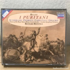 CDs de Música: I PURITANI -BELLINI - 3 CD - RICHARD BONYNGE - DECCA. Lote 133471182