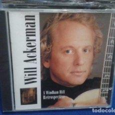 CDs de Música: CD WILL ACKERMAN ( A WINDHAM HILL RETROSPECTIVE ) 1993 BMG PRECINTADO. Lote 133497126