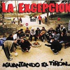 CDs de Música: LA EXCEPCION – AGUANTANDO EL TIRÓN... (ESPAÑA, 2006). Lote 133502006