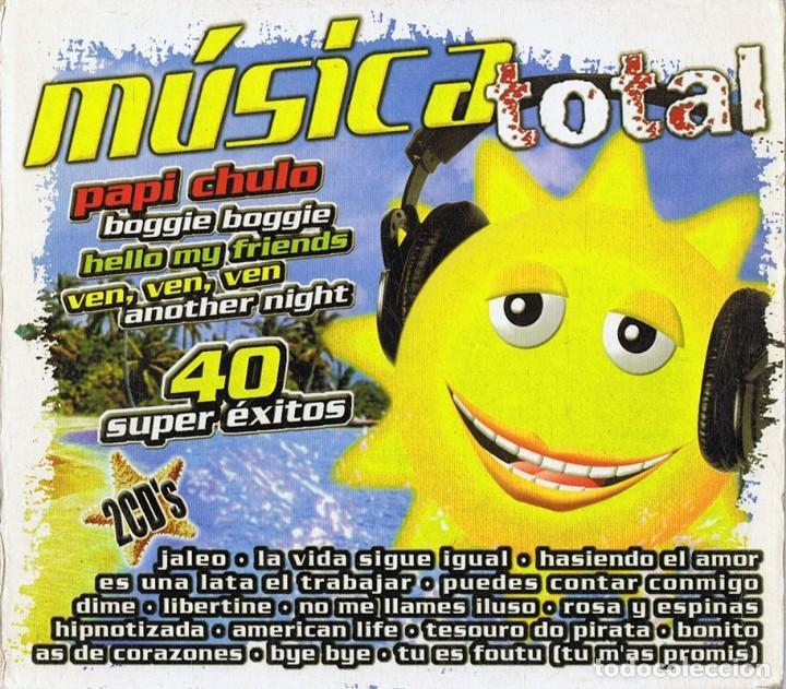 MÚSICA TOTAL 40 SÚPER ÉXITOS ( 2 CD´S) (Música - CD's Latina)