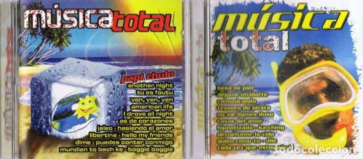 CDs de Música: MÚSICA TOTAL 40 SÚPER ÉXITOS ( 2 CD´S) - Foto 2 - 133515278