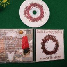 CDs de Música: CD SEMANA SANTA SEVILLA - BANDA DE CORNETAS Y TAMBORES CORONA DE ESPINAS. Lote 133564542