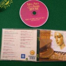 CDs de Música: CD SEMANA SANTA SEVILLA - DISCO DE ORO MARCHAS COFRADES BANDA MUSICA DOS HEMANAS SANTA ANA. Lote 133564706