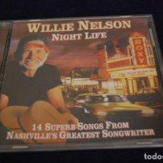 CDs de Música: WILLIE NELSON NIGHT LIFE CD. Lote 133570286