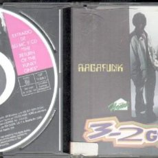 CDs de Música: RAGAFUNK 3-2 GET FUNKY.SINGLE. CD-GRUPEXT-503. Lote 133579022