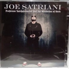 CDs de Música: JOE SATRIANI PROFESSOR SATCHAFUNKILUS AND THE MUSTERION OF ROCK. Lote 133579907