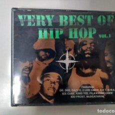 CDs de Música: VERY BEST OF HIP HOP VOL.1. DR. DRE. ICE T. NWA. ULTRA RARO! 3 CD! . Lote 133586158