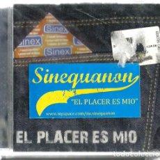 CDs de Música: CD SINEQUANON : EL PLACER ES MIO ( HIP-HOP ESPAÑOL ) . Lote 133589798