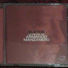 CDs de Música: ARMANDO MANZANERO (DUETOS) CD 2000 - COMPLICES, MALÚ, MIGUEL BOSE, LOLITA, ALEJANDRO SANZ.... Lote 133593110