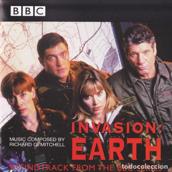 INVASION: EARTH / RICHARD G. MITCHELL CD BSO (Música - CD's Bandas Sonoras)