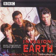 CDs de Música: INVASION: EARTH / RICHARD G. MITCHELL CD BSO. Lote 133594850
