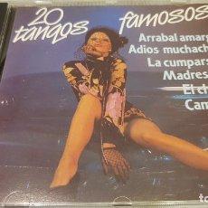 CDs de Música: 20 TANGOS FAMOSOS / ORQ. SERENATA TROPICAL Y VIOLINES DE PEGO / CD - KUBANEY-PERFIL / LUJO.. Lote 133637950