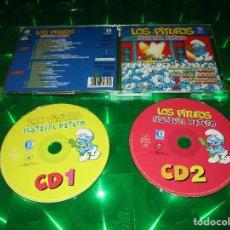 CDs de Música: LOS PITUFOS ( FESTIVAL PITUFO ) - 2 CD - 34353 - DIVUCSA - TORERO - BAILA PITUFINA - LIMONADA .... Lote 133638354