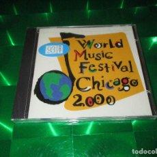 CDs de Música: WORLD MUSIC FESTIVAL CHICAGO 2000 - CD - BCR 008 - BIG CHICAGO RECORDS - PRECINTADO. Lote 133651942